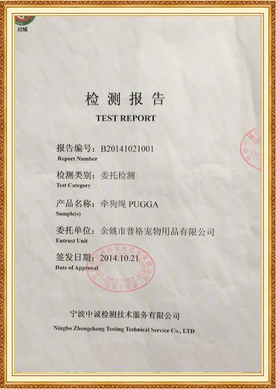 Rapport de test